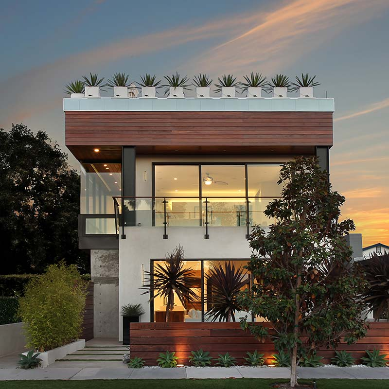 acacia-contemporary-exterior-sunset
