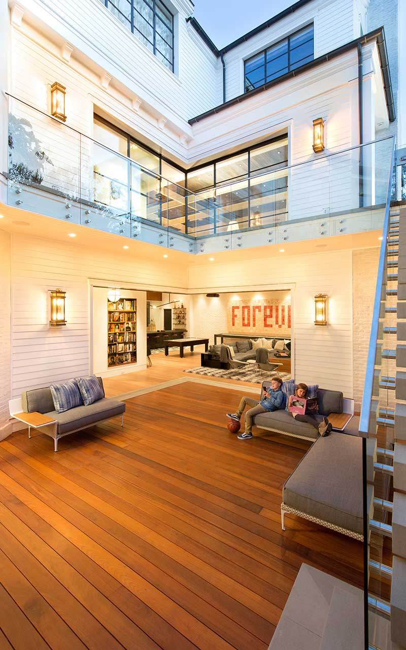 port-street-mid-century-modern-basement-exterior-stairs