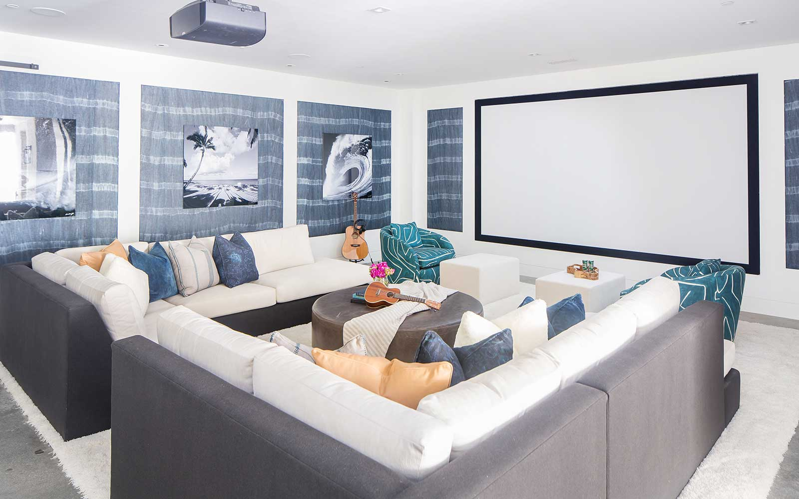 modern-beach-house-basement-theater